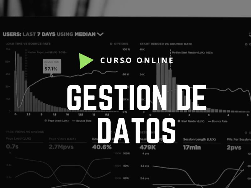 Gestión de Datos, curso online de data management DMBok2 de DAMA